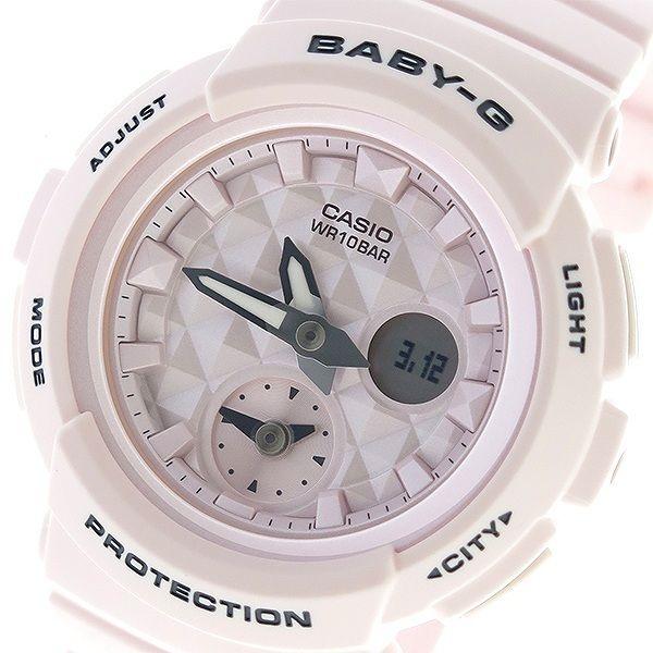 カシオ CASIO ベビーG BABY-G ビーチカラーズ Beach Colors クオーツ レディース 腕時計 BGA-190BE-4A ピンク