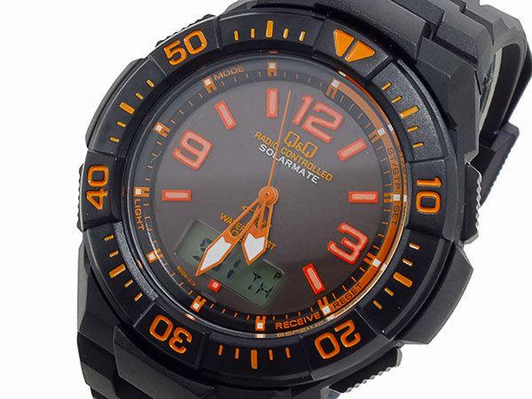 シチズン キューアンドキュー Q&Q クオーツ メンズ アナデジ 腕時計 MD06-315