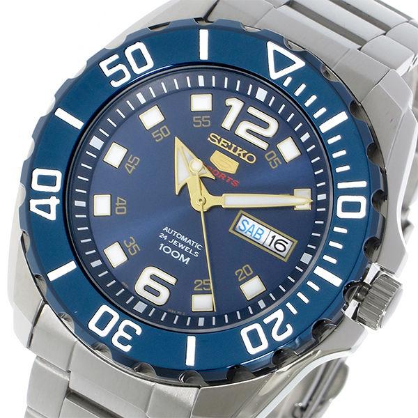セイコー SEIKO セイコー5 SEIKO 5 自動巻き メンズ 腕時計 SRPB37K1 ブルー