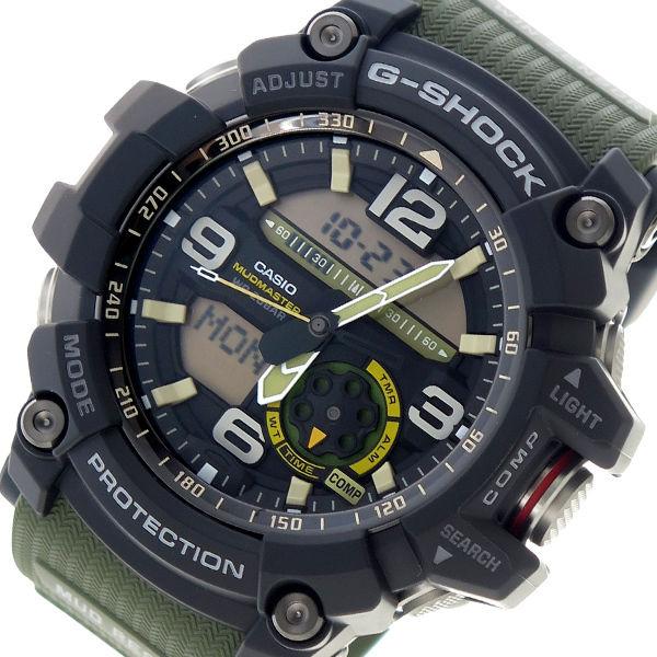 カシオ CASIO Gショック G-SHOCK クオーツ メンズ 腕時計 GG-1000-1A3 ブラック×グリーン