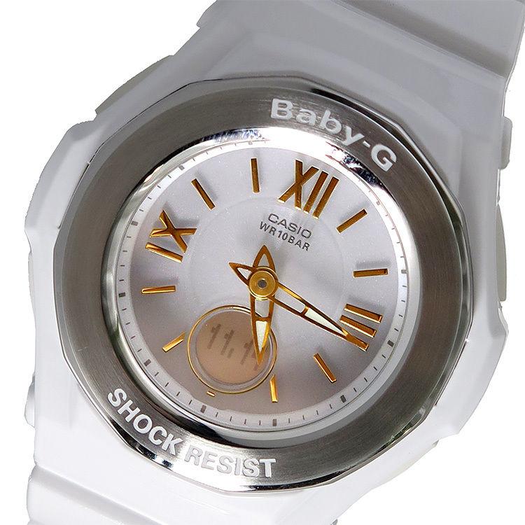 カシオ CASIO ベビーG BABY-G クオーツ レディース 腕時計 BGA-1050GA-7BJF ホワイトシルバー 国内正規