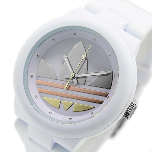アディダス ADIDAS アバディーン クオーツ ユニセックス 腕時計 ADH9084 ホワイト