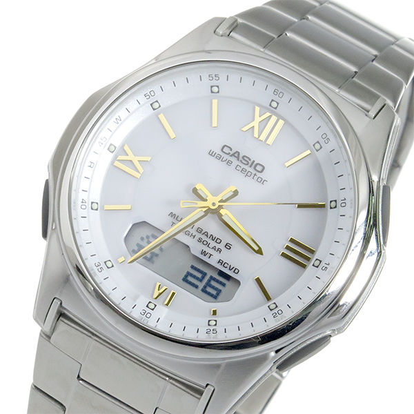 カシオ CASIO WAVE CEPTOR 電波 ソーラー メンズ 腕時計 WVA-M630D-7A2JF 国内正規
