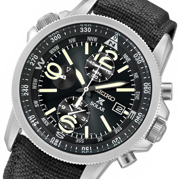 セイコー プロスペックス ソーラー メンズ 腕時計 SBDL031 ブラック 国内正規