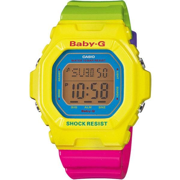 カシオ ベビーG エナジェティックカラーズ クオーツ レディース 腕時計 BG-5607-9