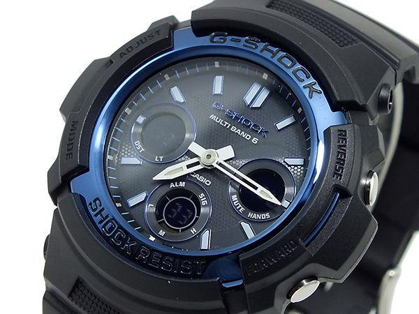 カシオ CASIO Gショック 電波 ソーラー マルチバンド6 メンズ 腕時計 AWG-M100A-1A