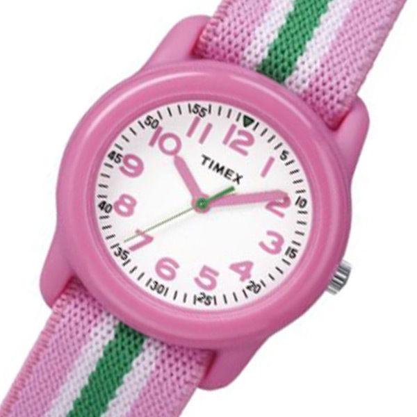 タイメックス クオーツ キッズウォッチ ユニセックス 腕時計 TW7C05900 ピンク 国内正規