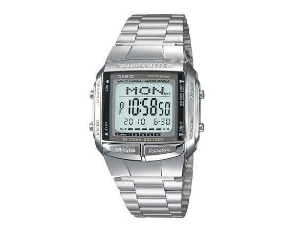 カシオ CASIO データバンク DATA BANK デジタル メンズ デュアルタイム 腕時計 DB-360-1AJF