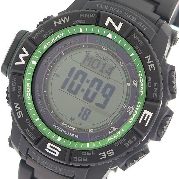 カシオ CASIO プロトレック PROTREK クオーツ メンズ 腕時計 PRW-3510FC-1 ブラック/ブラック