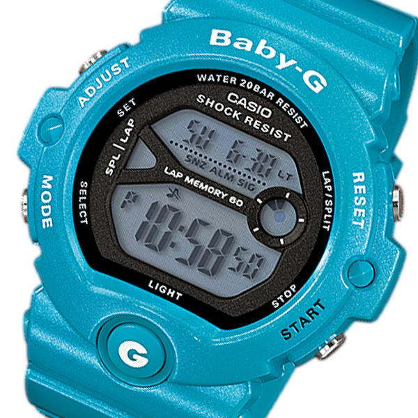 カシオ CASIO ベビーG フォー・ランニング レディース 腕時計 BG-6903-2 ブルー