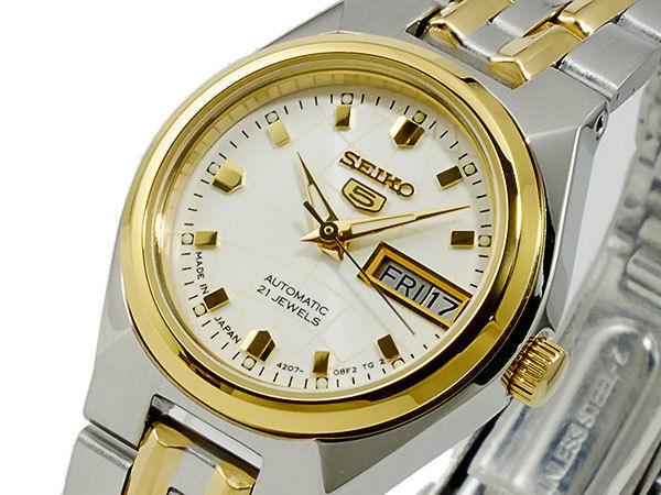 セイコー SEIKO セイコー5 SEIKO 5 自動巻き レディース 腕時計 SYMK44J1