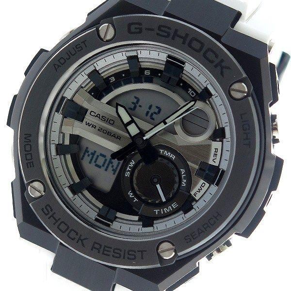 カシオ CASIO Gショック G-SHOCK クオーツ メンズ 腕時計 GST-210B-7A シルバー