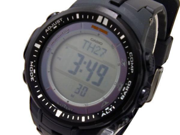 カシオ CASIO プロトレック PROTREK 電波ソーラー メンズ 腕時計 PRW-3000-1DR