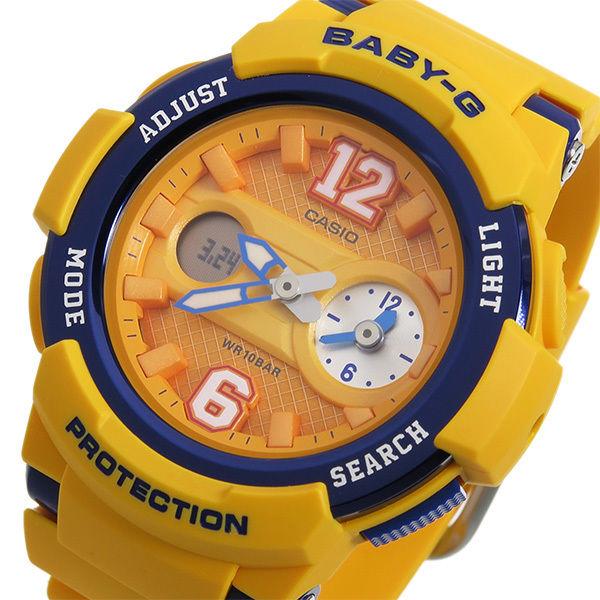 カシオ ベビーG BABY-G クオーツ レディース 腕時計 BGA-210-4B オレンジ