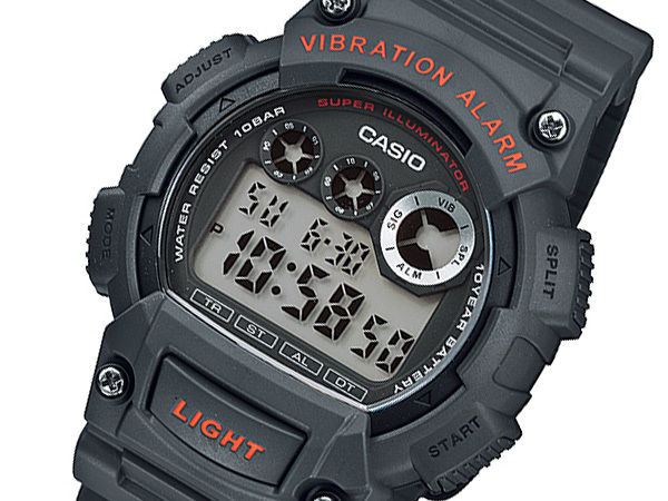 カシオ CASIO STANDARD メンズ デュアルタイム 腕時計 W-735H-8AJF 国内正規