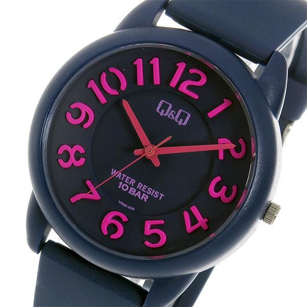 シチズン キューアンドキュー クオーツ ユニセックス 腕時計 VR68-004 ネイビー