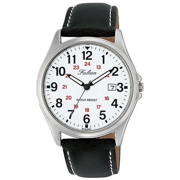 シチズン CITIZEN キューアンドキュー Q&Q ファルコン メンズ 腕時計 D026-304 ブラック