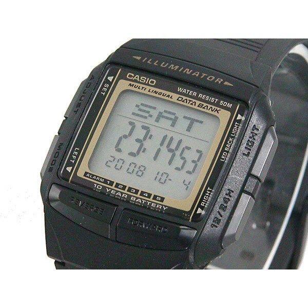 カシオ CASIO データバンク DATA BANK ユニセックス 腕時計 DB36-9