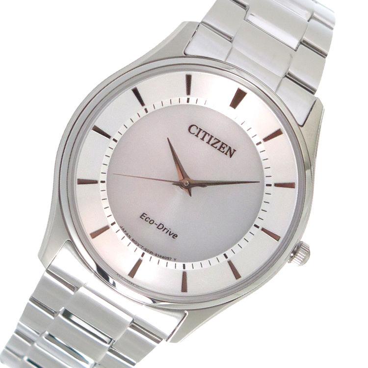 シチズン CITIZEN エコ・ドライブ クオーツ メンズ 腕時計 BJ6481-58A シルバー
