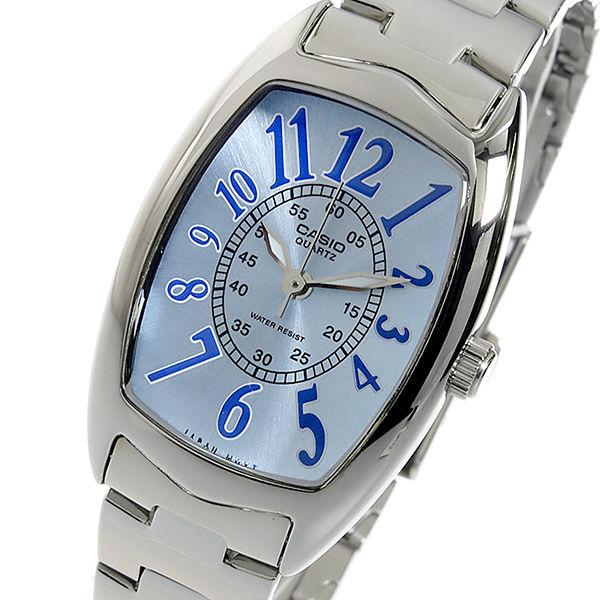 カシオ CASIO クオーツ レディース 腕時計 LTP-1208D-2B ブルー