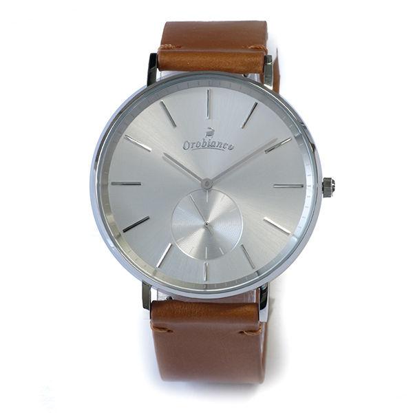 オロビアンコ OROBIANCO semplicitus ユニセックス 腕時計 OR-0061-9 Camel/Silver