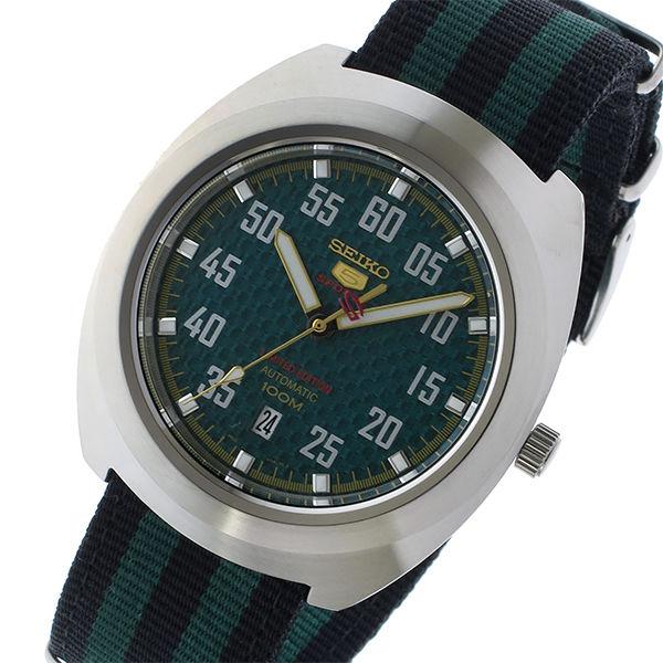 セイコー SEIKO セイコー5 スポーツ 5 SPORTS 自動巻き メンズ 腕時計 SRPA89K1 グリーン/ブラック