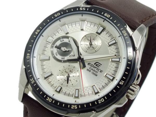 カシオ CASIO エディフィス EDIFICE メンズ 腕時計 EF336L-7 シルバー