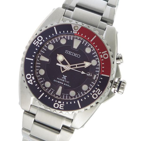 セイコー SEIKO プロスペックス キネティック PROSPEX KINETIC クオーツ メンズ 腕時計 SKA759P1 ネイビー