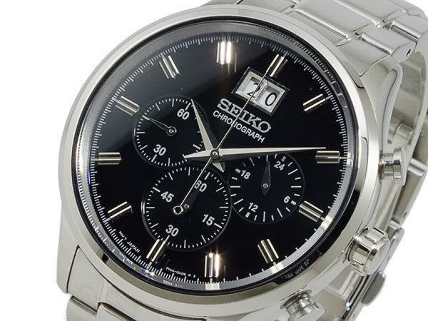 セイコー SEIKO クロノグラフ メンズ 腕時計 SPC083P1