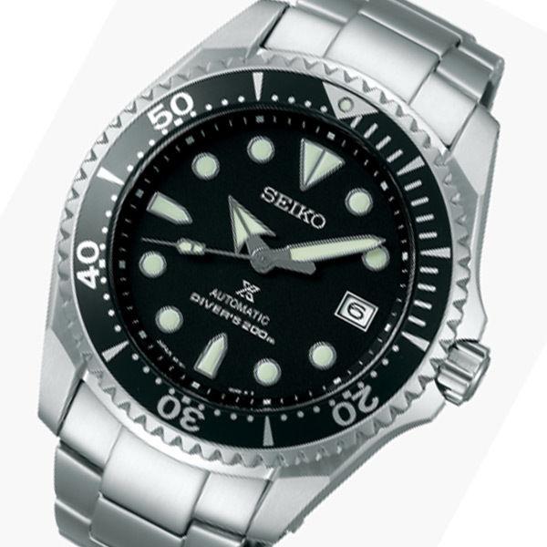 セイコー プロスペックス 自動巻き メンズ 腕時計 SBDC029 ブラック 国内正規