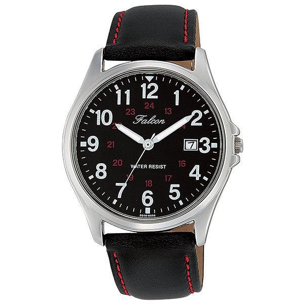 シチズン CITIZEN キューアンドキュー Q&Q ファルコン メンズ 腕時計 D026-305 ブラック