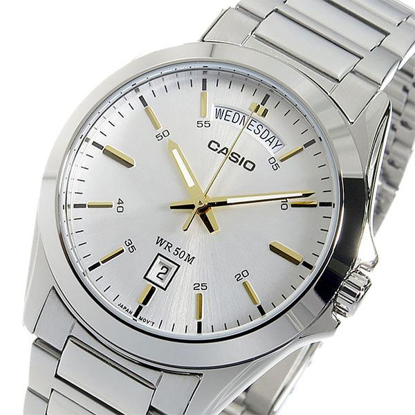 【希少逆輸入モデル】 カシオ CASIO クオーツ メンズ 腕時計 MTP-1370D-7A2VDF シルバー