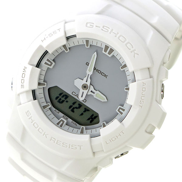 カシオ CASIO Gショック G-SHOCK クオーツ メンズ 腕時計 G-100CU-7A ライトグレー