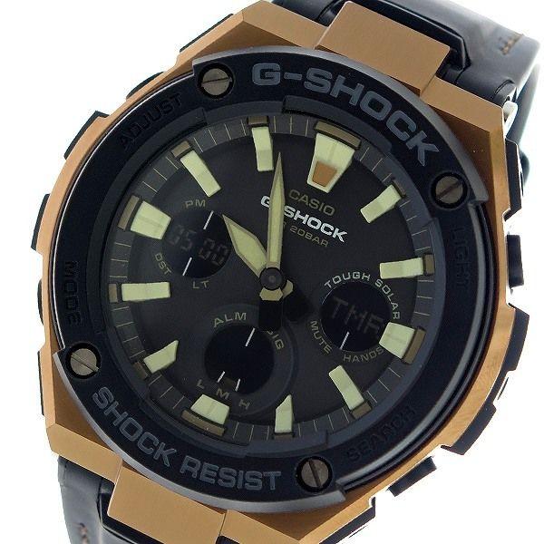 カシオ CASIO Gショック G-SHOCK クオーツ メンズ 腕時計 GST-S120L-1A ブラック