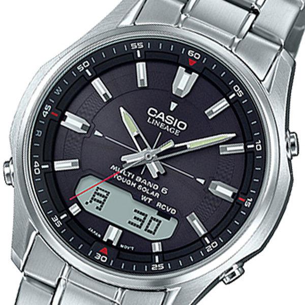 カシオ CASIO リニエージ LINEAGE アナデジ クオーツ メンズ 腕時計 LCW-M100DE-1AJF ブラック 国内正規