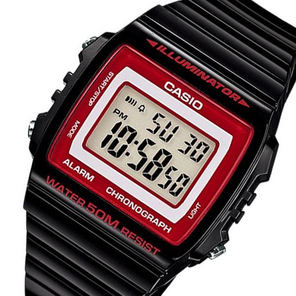 カシオ CASIO スタンダード デジタル メンズ 腕時計 W-215H-1A2 ブラック
