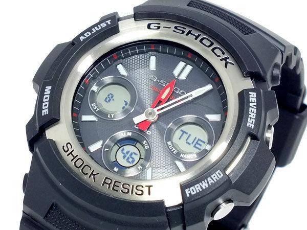 カシオ CASIO Gショック G-SHOCK アナデジ ソーラー メンズ 腕時計 AWR-M100-1A