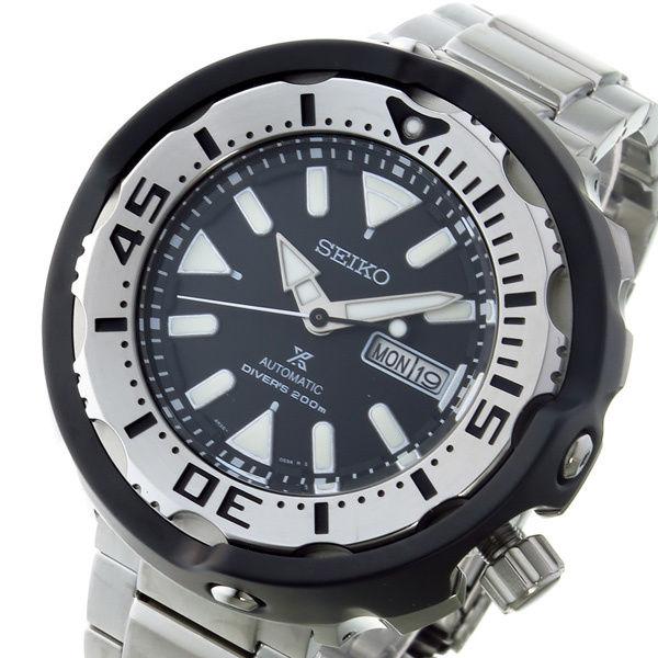 セイコー SEIKO プロスペックス PROSPEX 自動巻き メンズ 腕時計 SRPA79J1 ブラック