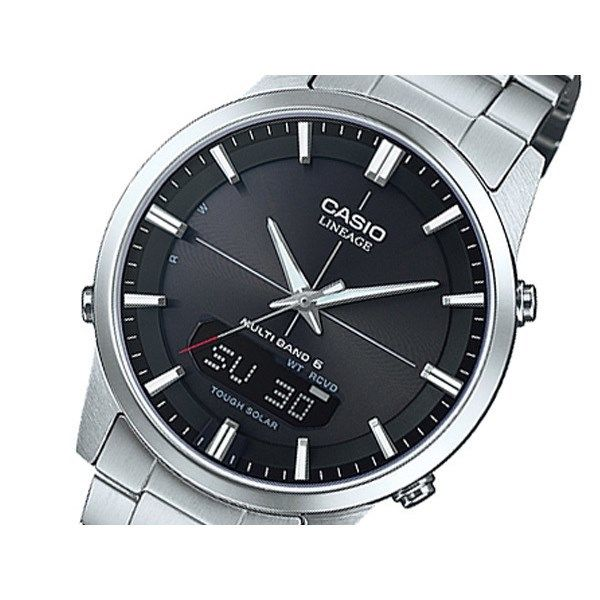 カシオ CASIO リニエージ 電波 ソーラー メンズ 腕時計 LCW-M170D-1AJF 国内正規