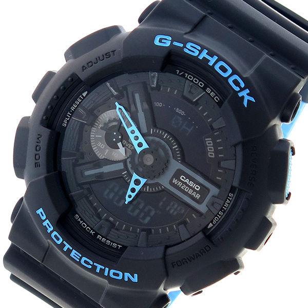 カシオ CASIO Gショック G-SHOCK クオーツ メンズ 腕時計 GA-110LN-1A ブラック