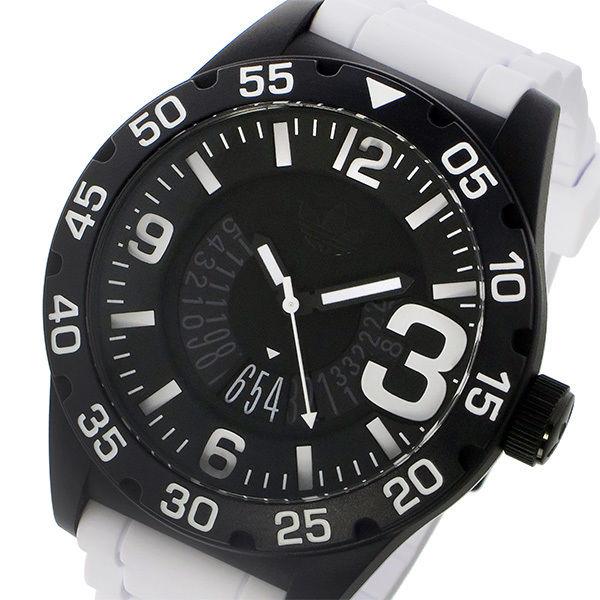 アディダス ADIDAS オリジナルス ORIGINALS ニューバーグ ユニセックス 腕時計 ADH3136 ブラック