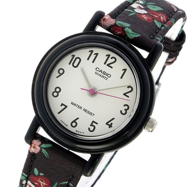 カシオ CASIO ベーシック クオーツ レディース 腕時計 LQ-139LB-1B2 ホワイト/ブラック