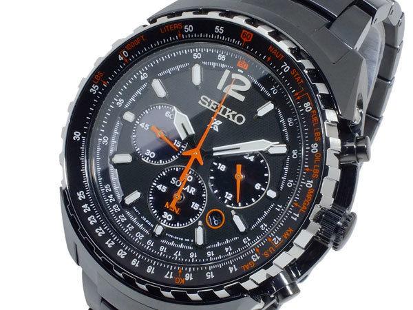 セイコー SEIKO プロスペックス PROSPEX ソーラー クオーツ メンズ クロノ 腕時計 SSC263P1