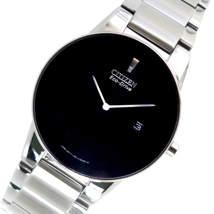 シチズン CITIZEN エコ・ドライブ クオーツ メンズ 腕時計 AU1060-51E ブラック