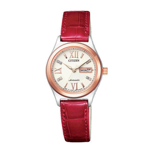 シチズン CITIZEN シチズンコレクション レディース 自動巻き 腕時計 PD7164-09A 国内正規