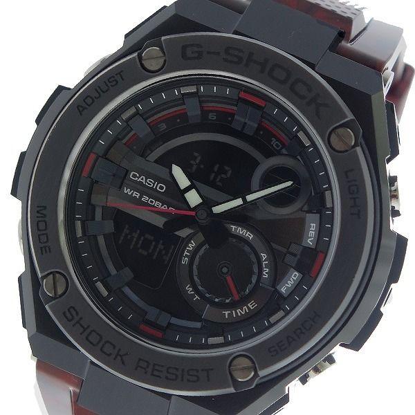 カシオ CASIO Gショック G-SHOCK クオーツ メンズ 腕時計 GST-210M-4A ブラック