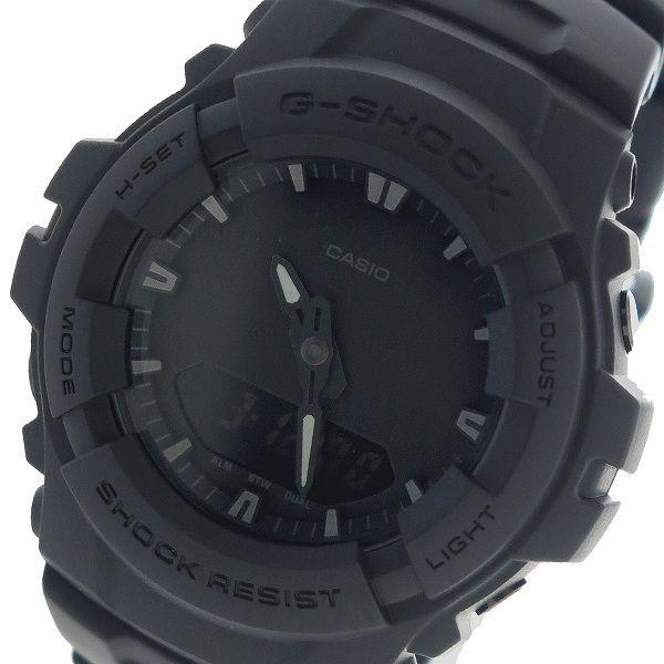 カシオ CASIO Gショック G-SHOCK クオーツ メンズ 腕時計 G-100BB-1A ブラック