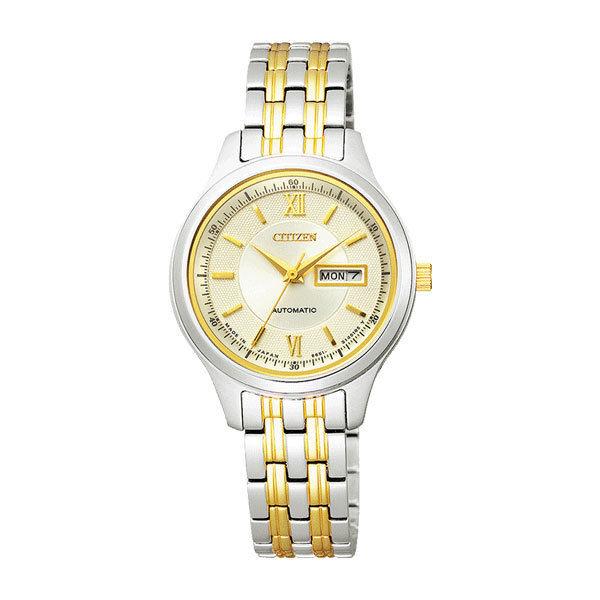 シチズン CITIZEN シチズンコレクション レディース 自動巻き 腕時計 PD7154-53P 国内正規