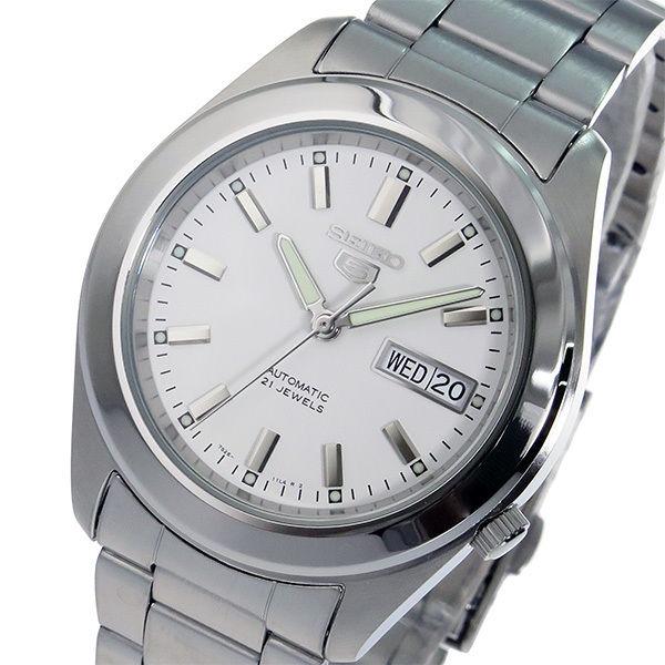 セイコー SEIKO セイコー5 SEIKO 5 自動巻き メンズ 腕時計 SNKM61K1 ホワイト