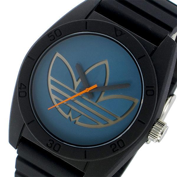 アディダス ADIDAS サンティアゴ SANTIAGO クオーツ メンズ 腕時計 ADH3166 ネイビー